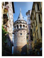 Galata Tower by Serdarakman
