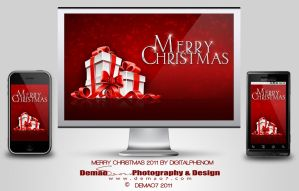 Merry Christmas 2011 by DigitalPhenom