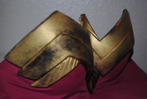 Wonder Woman Chest Plate Right by ZigorC