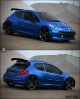 Peugeot 207 RC se by spittty