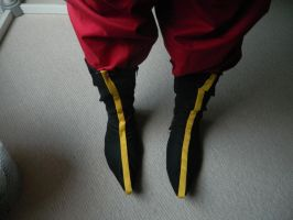 Zuko Shoes- Avatar the Last Airbender. by seriouslyblondie