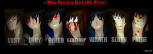 (CPOCs) ~The Seven Deadly Sins~ by L0ra2