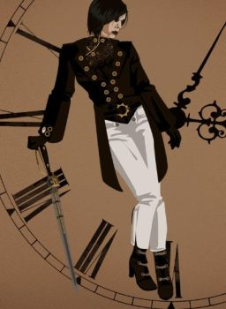 My steampunk character by swanks