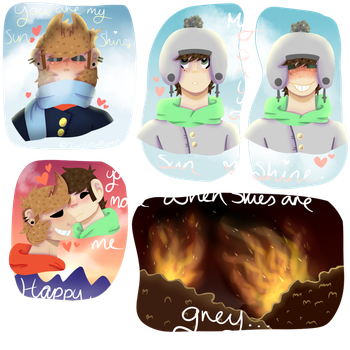 [EDDSWORLD] TordEdd - Sunshine by IrritatedRaven