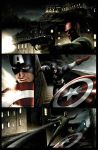 Captain America page 1 by JPRart