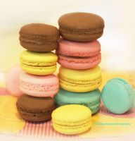 Irresistible Macaroons by theresahelmer