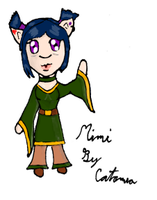 Mimi OC for 'Ari by Meip