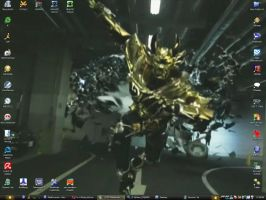 Garo Desk by Blackwerewolfhero