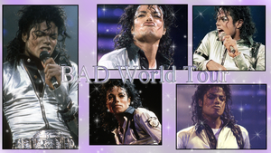 Bad World Tour Wallpaper by NatouMJSonic
