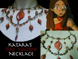 Katara's Necklace- Fire Nation by Vailiya