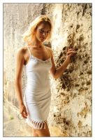 Samantha - white dress 4 by wildplaces