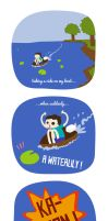 Minecraft's logic #1 : The waterlily by Yuminette