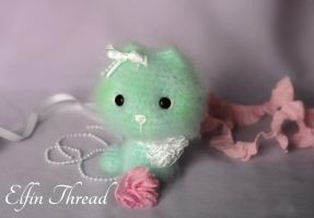Elfin Thread - Fuzzy Mini Kitty by ElfinThread