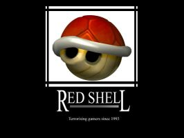 Motivational red shell by MorpheoV