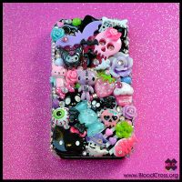 iPhone Rhinestone Case by BloodCross