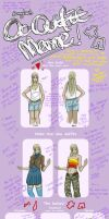 Bunnyloz's Outfit Meme by Origami-Butterfly
