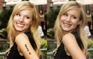 Enhanced Kristen Bell by ImSerious