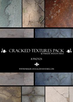 cracked textures pack by parker-stock