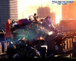 Optimus Prime: The Game by Spiritblast