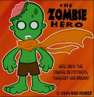 Zombie Hero by nickowolf