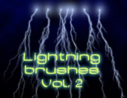 Lightning brushes Vol. 2 Hi Res by Bull53Y3