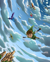 Free Fall -Revisited- by Icy-Snowflakes