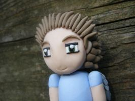 Able from Subsapien Polymer Clay Chibi (Close up) by LadyElasa