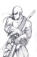 Deathstroke pencil by ...