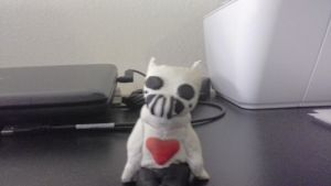 Zacharie clay doll attempt by Crona123456