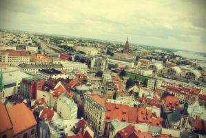 Old Riga by maremerald