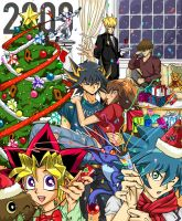 Yugioh Christmas by melonmelonmelon