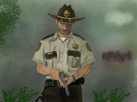 Rick Grimes by Gotchabad