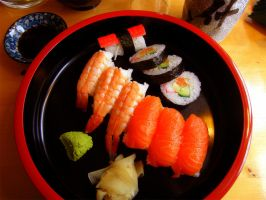 Japanese Sushi - Deliciousness from the sea by OutofLuna