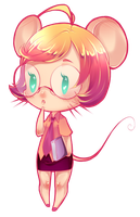 Chibi Mouse colored by rika-dono