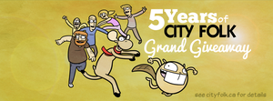 5 Years of City Folk Grand Giveaway by cityfolkwebcomic