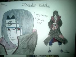 Naruto- Uchiha Itachi by TheDrakonSlayer