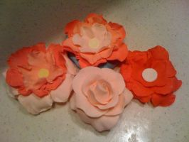 sugar paste flowers by snaplilly
