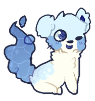 Bubbly Blues - Puppy OTA 1 by dreamypixel