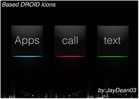 Based DROID Icon Set proto by JayDean03