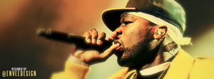 50 Cent - Cover Photo by enveedesigns