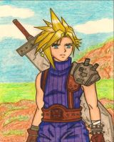 Final Fantasy 7: Cloud Strife by dagga19 by dagga19