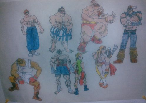 streetfighter part2 by snake-eye79