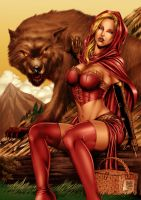 Red riding hood_colors by MARCIOABREU7