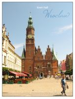 .: Wroclaw - town hall :. by alter-persona