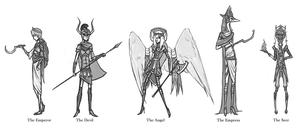 Archetypal Character Concepts by LeerReel
