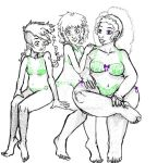 Love Our Bodies Sketch by Questionablexfun