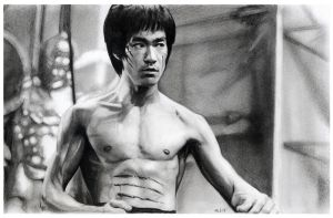 Bruce Lee by MLS-art