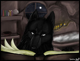 Peaceful Readings by Spectra-Sky