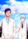 Collab-Aomine and Kuroko by kyaptain
