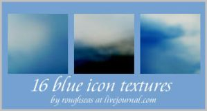 Blue icon textures by roughseas